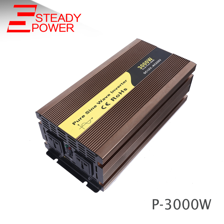 3000w dc/ac solar inveter 12v to 220v pure sine wave inverter from china supplier