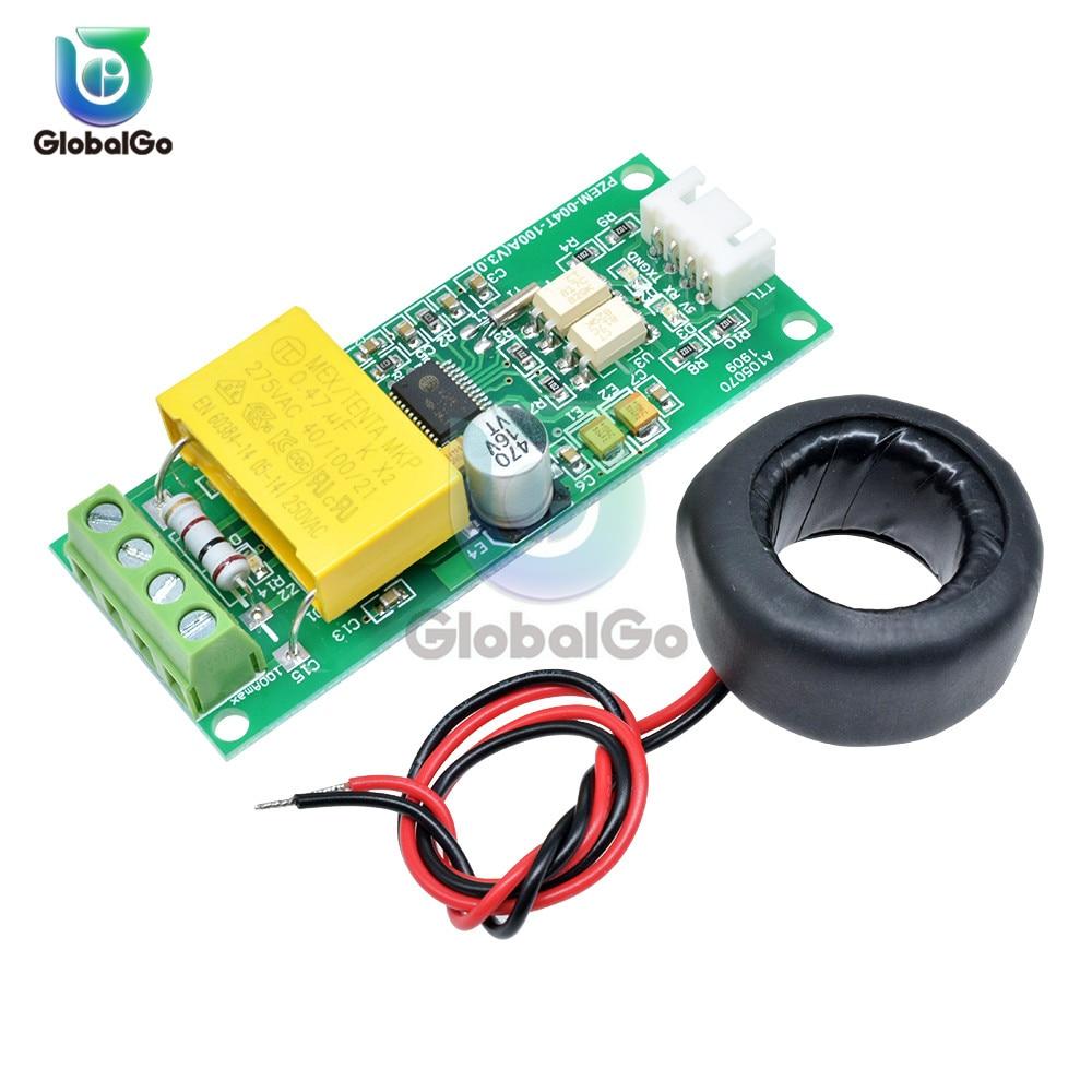 PZEM-004 AC Digital Multifunction Watt Power Volt Amp Current Test Meter Module For Arduino Ammeter Voltmeter 0-100A 80-260V