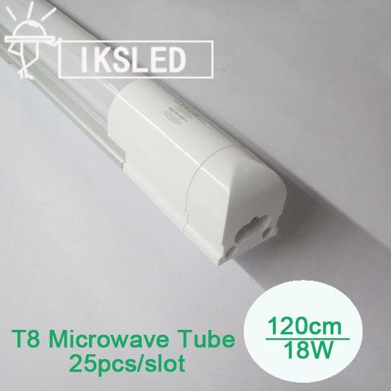 Microwave Sensor T8 tube 1200mm SMD2835 96pcs T8 integrated tube led for car park garage 25pcs/lot cheap price free shipping 2016 integrated led tube light t5 900mm 3ft led lamp epistar smd 2835 11watt ac110 240v 72leds 1350lm 25pcs lot