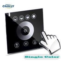 DIY Home Lighting Single Color LED Touch Panel Controller Led Dimmer For DC12V LED Strip Lights