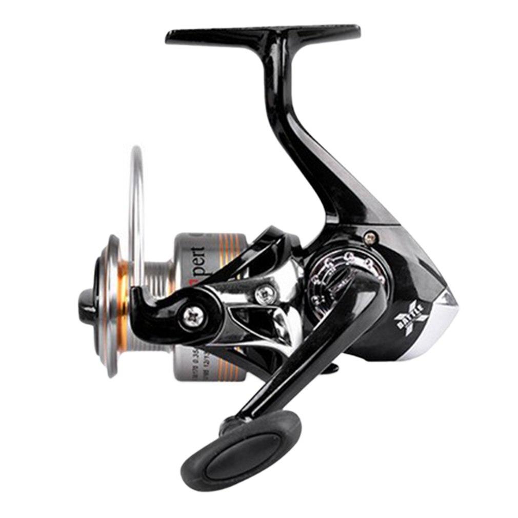 1PC Black plastic power handle fishing reel crank crank arm Spinning Reel ^P