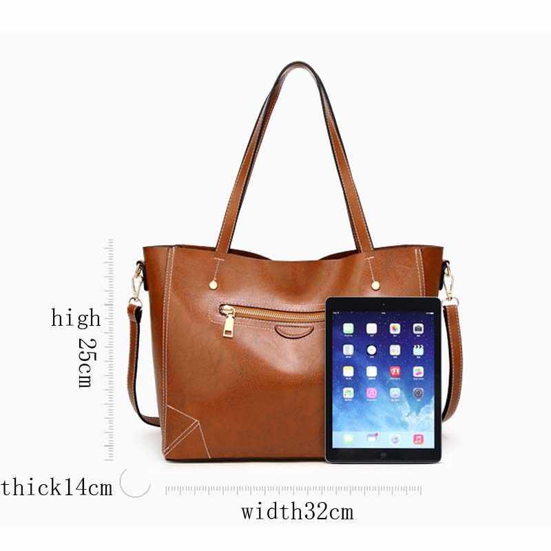 2018 neue trend luxus leder handtasche damen tasche hohe qualität damen handtasche casual schulter tasche damen handtasche schulter tasche