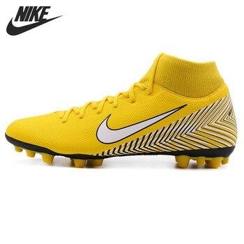 08ef1dca9cc7b Nueva llegada Original 2018 NIKE SUPERFLY 6 Academia NJR AG-R hombres  fútbol zapatos zapatillas