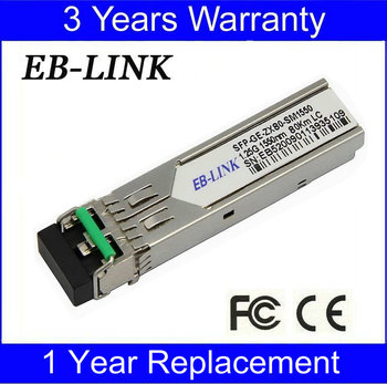 New MGBIC-08 Enterasy Compatible 1.25G 70-80km SFP Transceiver module