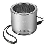 2016 petit acier gun portable mini haut-parleur carte insérée U disque subwoofer petite radio stéréo MP3 Lecteur