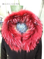 Party to overcome the scorpion fur fur collar two color warm women's clothing to wear a warm fur collar