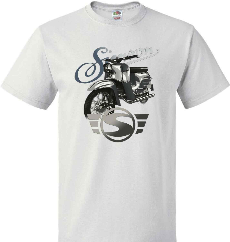Simson S51 S50 Moped Schwalbe IFA DDR Retro T-Shirt