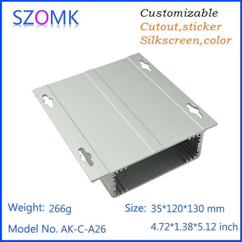 4 psc a lot Aluminum box enclosure case diy pcb instrument box electronic project enclosure 35
