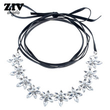 ZIVangela New Disign Fashion Multilayer necklace collar necklace & pendant luxury choker statement necklace maxi jewelry