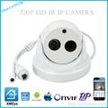 ONVIF 1MP CMOS IR CUT  H.264 1MP HD 720P HD IP P2P dome cameras XMEye APP for Smart Phone
