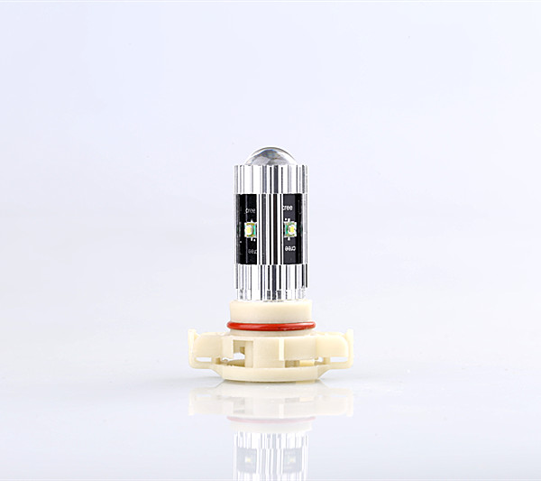 Free Shipping 2pc/lot car-styling Car Led Lamp Daytime Running Light Bulb For 2010 Cadillac Escalade