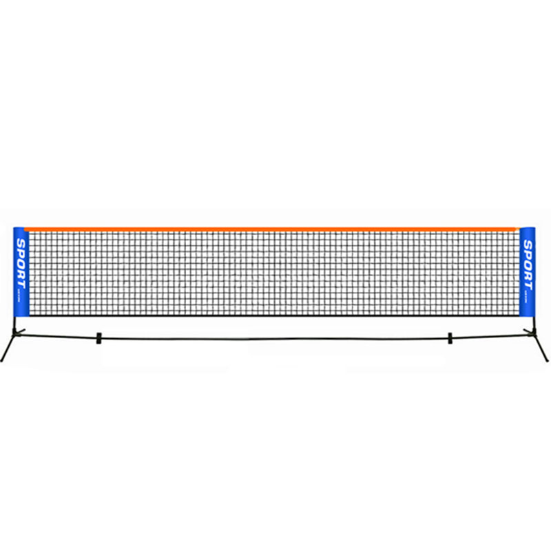 Portable Tennis Net Standard Professional Training Square Mesh Tennis Outdoor Indoor Sports Portable Square Net 6.1 M*0.76 M