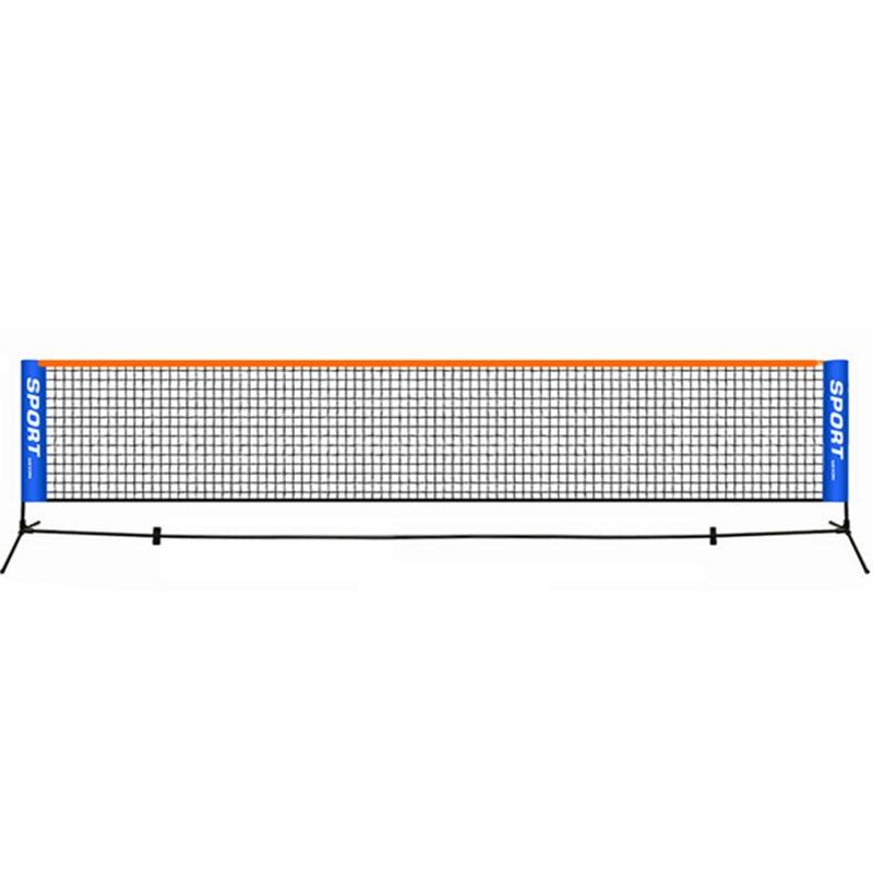 Portable Tennis Net Standard Professional Training Square Mesh Tennis Outdoor Indoor Sports Portable Square Net 6.1 M*0.76 M