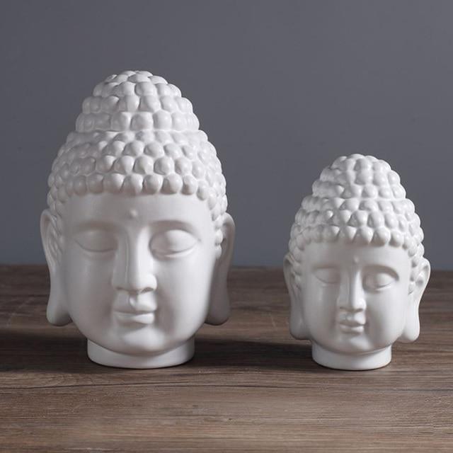 Boeddha Beeld Beton.Pinkmore Boeddha Hoofd Silicone Mold Beton Boeddhabeeld Mallen Voor