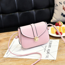 FRALU Simple PU Leather Mini Women Crossbody luggage Small Women Bag Messenger Shoulder Sling Purse Lady Handbag