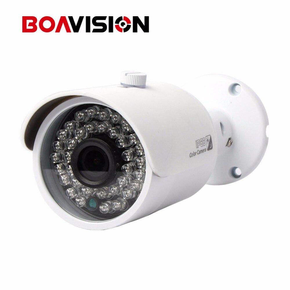 BOAVISION 1080P Full HD 2MP Bullet HD CVI Camera 720P Waterproof Outdoor With 3.6mm Lens 20M IR Distance hd cvi security bullet camera cvi 720p 1 0mp 2 array ir leds 6mm lens