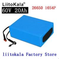 LiitoKala 60V 20AH Wasserdichte Lithium ion eBike Batterie 60V 1000W 1800W elektrische Roller batterie UNS EU AU Keine Steuer|Akku-Packs|   -