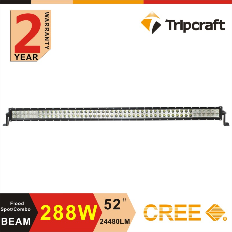 Hot-Selling New Products 288W 52inch Super Bright LED Car Roof Light Bar