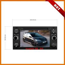 7 inch digital touch screen 2 DIN car DVD player Navigation for FORD FOCUS 2007 – 2008,rds,radio,bluetooth,free map,wince 6.0