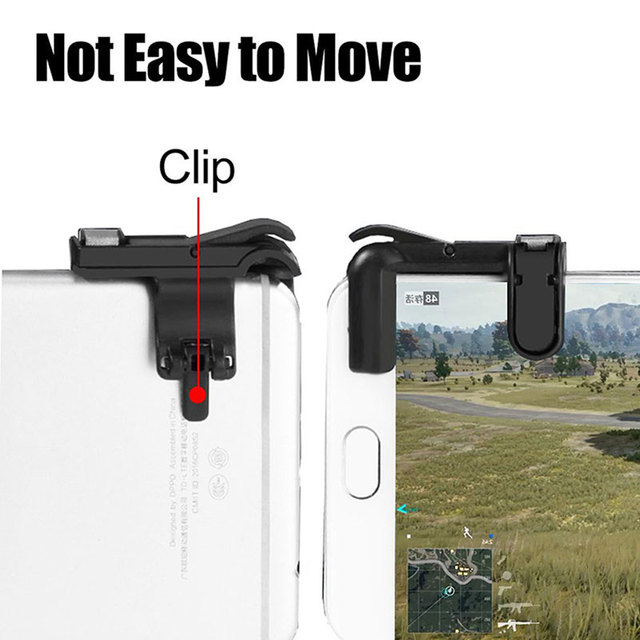 Smart Phone Mobile Gaming Trigger For PUBG