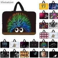 Viviration Neoprene Soft Laptop Sleeve Bag Carry Handle 10 12 13 14 15 17 Notebook Portable
