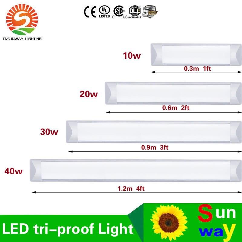 led tri proof light batten tube 2ft3ft4ft 40w explosion proof two cheap lighting fixtures