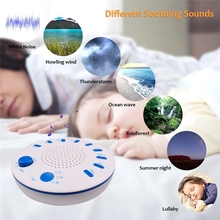 Baby Soothing Sleep Helper Night Light Sleep Aid Timing Music Fall Asleep Easier Machine White Noise Sound therapy insomnia anxiety ces cranial electrical stimulation fall asleep easier sleep aid device home office portable physical