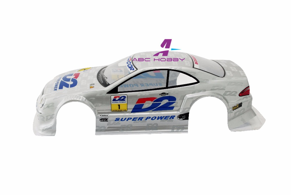 US $15 0 |1x New RC Car 1/10 On Road Drift Painted white PC Body Shell  bodies for teamc Kyosho HPI Tamiya HSP teamc habao FS-in Parts &  Accessories