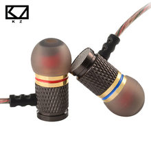 Buy online KZ-ED2 Professional In-Ear Earphone Metal Heavy Bass Sound Quality Music Earphone China's High-End Brand Headset fone de ouvido