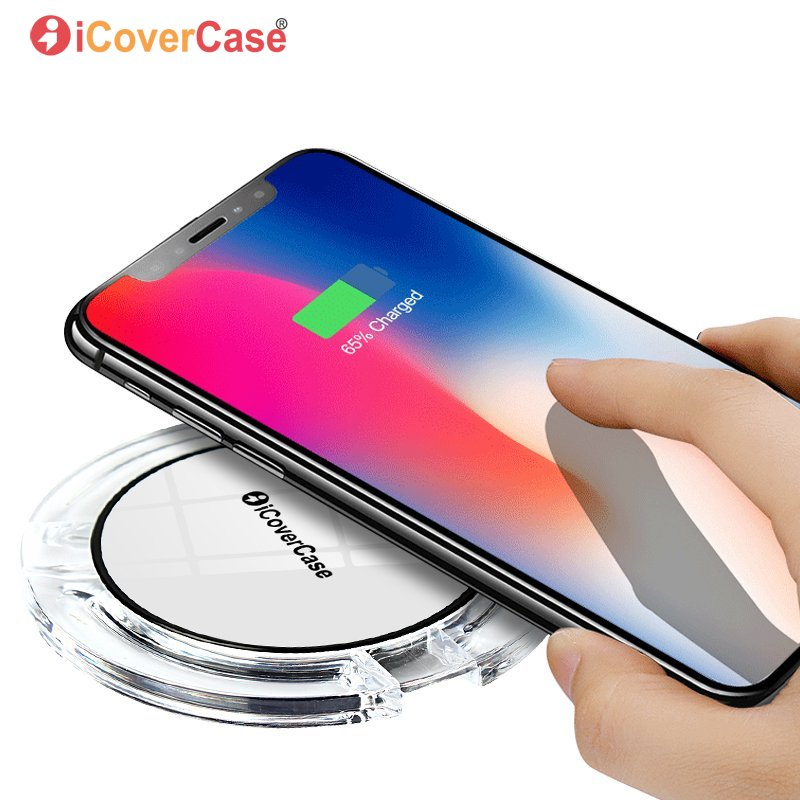 Wireless Charger For Huawei Mate 20 Mate 20 Lite Qi Charging Pad Mobile Phone Accessory For Huawei Mate20 Receiver Cover Case