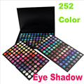 Profesional de tres perla y mate sombra de ojos paleta de 252 colores de maquiagem sombra de ojos maquillaje desnudo maquillaje juego de regalo P252