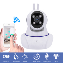 HD 720P Wireless CCTV IP Camera Home Surveillance Security Wifi IP Camera Pan Tilt IR Night Vision Motion Detection Baby Monitor