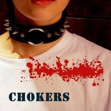 BDSM Necklace Rivet Punk Rockstar Rockband Choker School Girl Jewelry Collar Neck Rivet Choker Belt Sexy Woman Necklet Chaplet цена в Москве и Питере