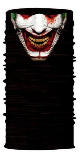 3D Череп Скелет бесшовная Бандана Балаклава головная повязка мотоциклетный головной убор Байкер волшебный платок труба Шея рыболовная вуаль маска для лица - Цвет: TA03