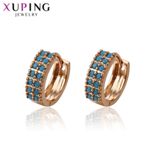 Xuping Fashion Earrings Gold Color Plated for Women Thanksgiving Day Jewelry Gift 93384 11 11 deals xuping fashion figure shape pattern jewelry sets gold color plated jewelry thanksgiving gifts for women s122 65105