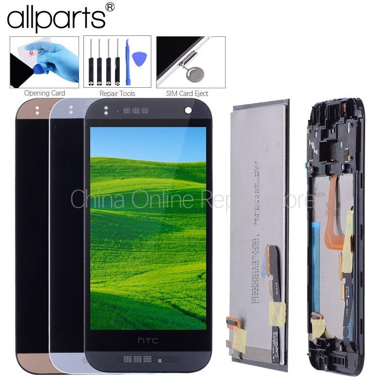 4,5 Original LCD Für HTC One Mini 2 Display Touchscreen Digitizer mit Rahmen für HTC One Mini 2 LCD m8 Mini Display Ersatz