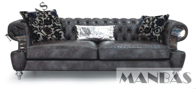 2015 New Chesterfield Leather Sofa ,classic Sofa Leather Living Room Sofa Home Furniture 3 Seater