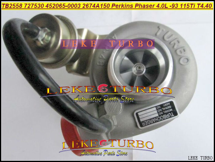 TB2558 727530-5003 452065-0003 2674A150 727530 452065 758817 Turbo For PERKIN S Agricultural Phaser 4.0L 1993 115Ti T4.40 106HP gt2556s 711736 711736 0016 711736 0026 711736 0003 711736 0010 2674a227 turbo for perkin tractor loader 420d it vista 4 4 4l