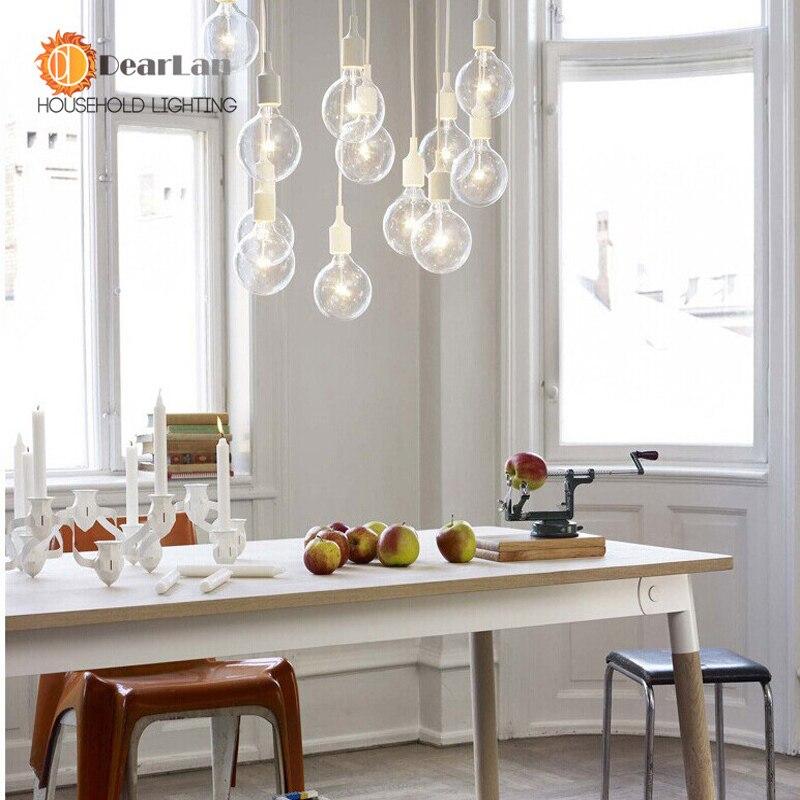 aliexpress.com : acquista colorful lampada a sospensione moderna ... - Lampade Sospensione Camera Da Letto
