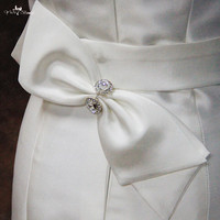 RSB23 Satin Belt Wedding Sash Belt