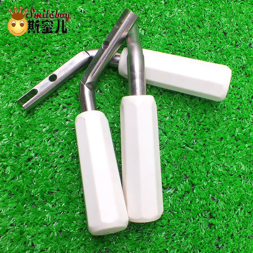 Ice Cream Machine Stainless Steel Handle With Rubber Part Handler 1pcs Maker For Space