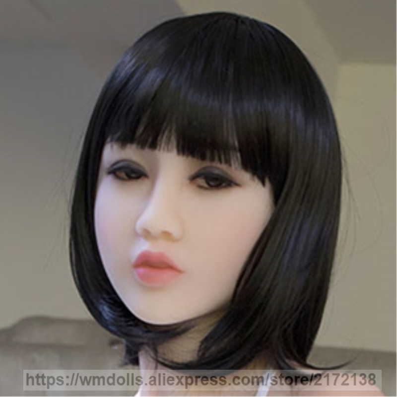 WMDOLL sex doll head for realistic silicone sex dolls japanese real adult doll head with oral sexWMDOLL sex doll head for realistic silicone sex dolls japanese real adult doll head with oral sex