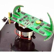 Горячая DIY Сферический вращающийся светодиодный набор POV паяльник Тренировочный Набор