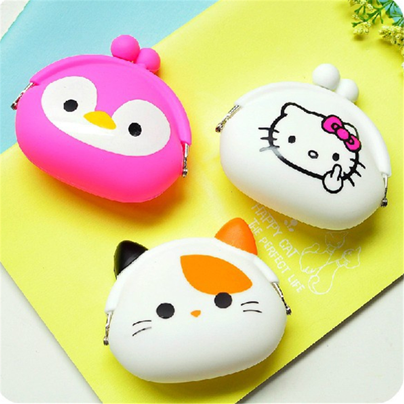cartoon Cat Dog Pet Face Women Coin Wallet Purse Mini Bag Kids Coin Purse Pouch lady Wallets student girl Coin Bags High Quality m215 cute cartoon pets akita dog siberian husky personality plush coin purse wallet girl women student gift wholesale