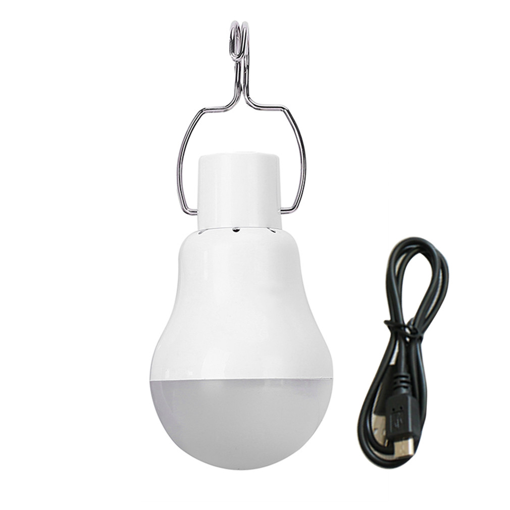 ICOCO Hot Sale Portable Outdoor USB Rechargeable LED Bulb Engergy Saving Camping Lamp Hiking Fishing Light 1.5W 1500mah 110V vintage usb rechargeable led energy saving durable bulb lamp