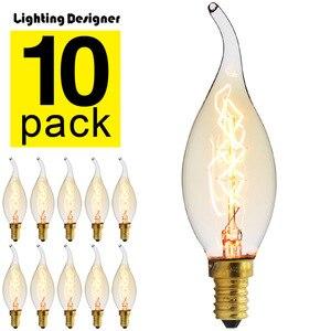 10Pieces/Pack Edison Bulb Vint