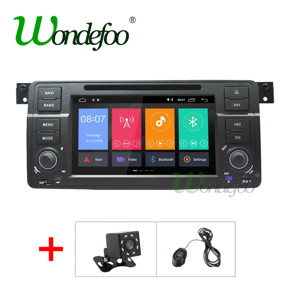 For BMW/E46/M3/Rover/3 Series Car dvd Multimedia player GPS octa-core 4G RAM Android 8.0/8.1 Car radio audio Stereo obd2 DSP IPS