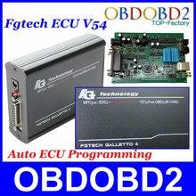 FGTech Galletto 4 Master V54 A + + + Calidad Agregar Función BDM Adaptadores Llenos Infineon TriCore EOBD2 FG Tech OBDK-CAN Multi-idioma