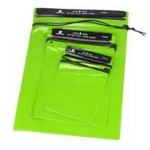 3Pcs Set Waterproof font b Bag b font Pouches Green Waterproof Storage font b Bag b