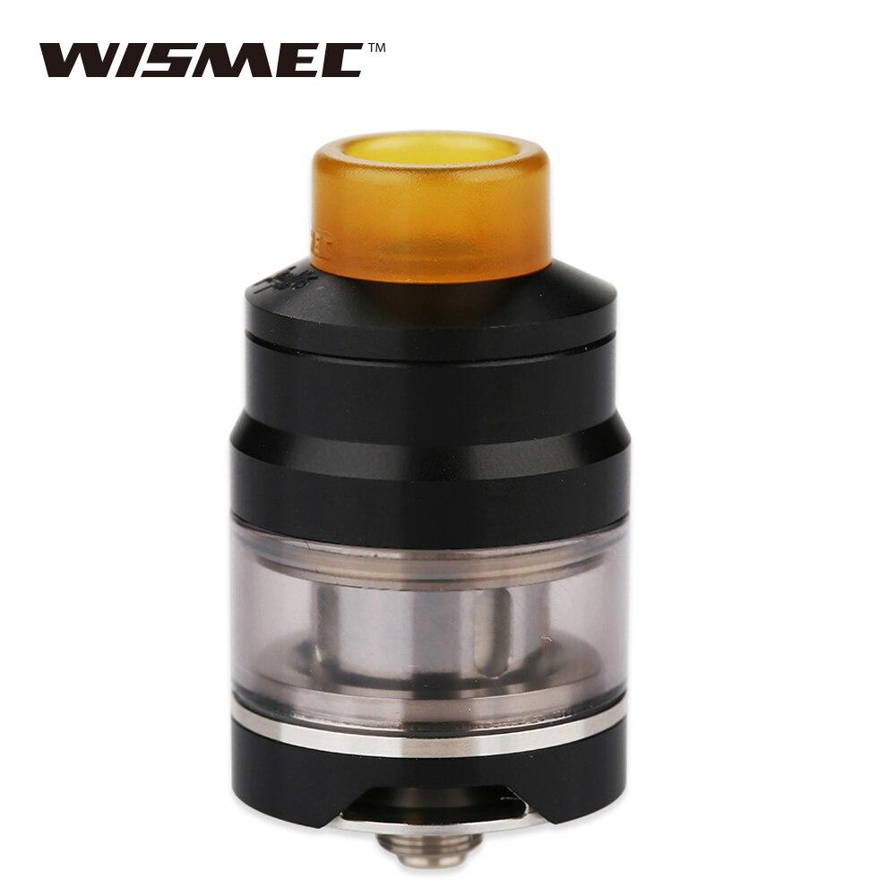 Original wismec Gnomo Tanque 2 ml para Reuleaux RX GEN3 mod Gnomo subohm atomizador Top llenado bottom Airflow 0.15ohm/ 0.2ohm bobina